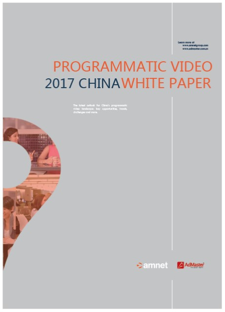 Amnet & AdMaster White Paper - Programmatic OTV in China