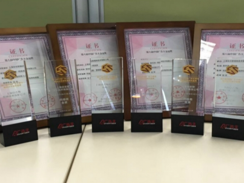 Amnet China has swept up 2016 Golden Vision Awards